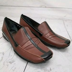 Sesto Meucci 6M Driving Loafers Leather Slip Ons